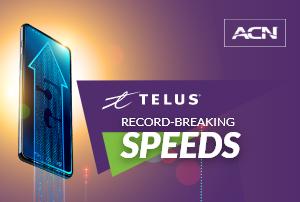 Telus Record Breaking Speeds